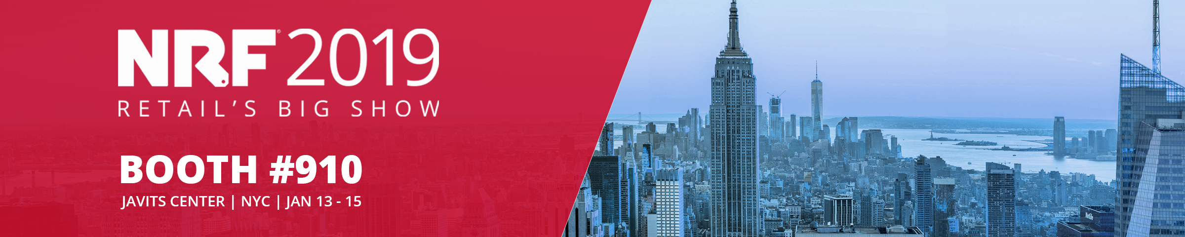 Find GSPANN at NRF 2019 - Booth #910 (January 13-15)